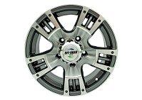 Диск УАЗ литой серый 5x139,7 8xR16 d110 ET0