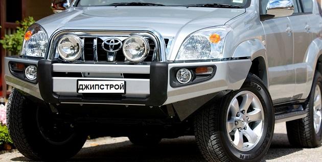 Бампер передний ARB Sahara для Toyota Land Cruiser Prado 120
