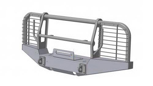 Силовой обвес УАЗ 469, УАЗ Хантер