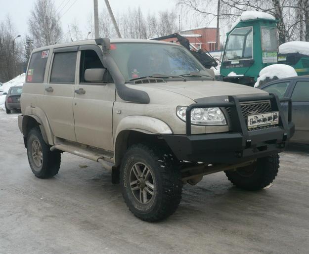 Бампер передний УАЗ Патриот