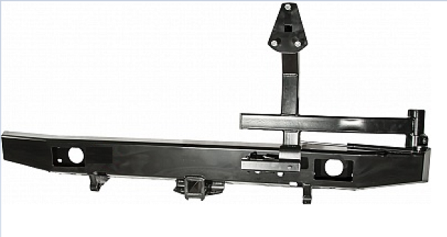 Бамперзадний УАЗ Буханка с фаркопом и калиткой стандарт