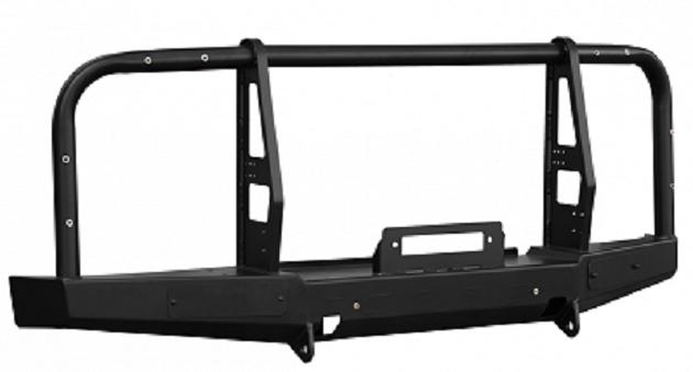 Бамперзадний УАЗ Буханка с площадкой под лебедку и калиткой стандарт