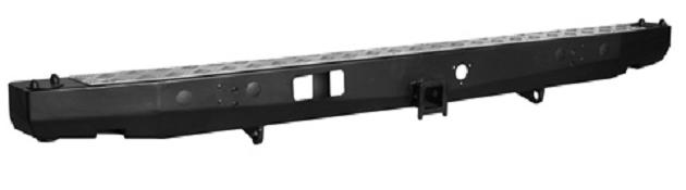 Задний силовой бампер с местом крепления площадки лебёдки для УАЗ