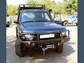 Передний силовой бампер со съёмным кенгурином Land Rover Discovery