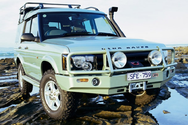 ARB: Deluxe Winch Bar Land Rover Discovery II late