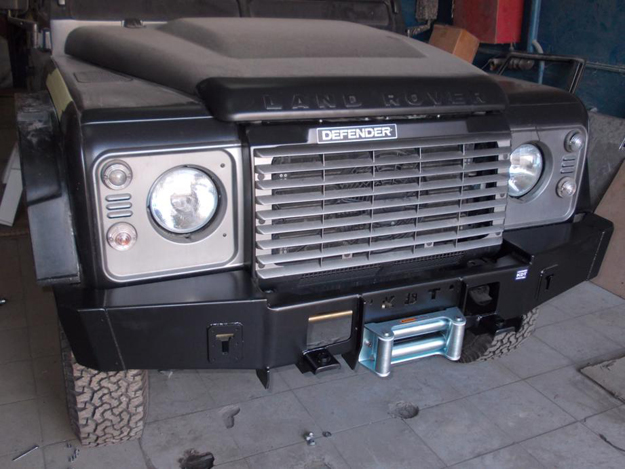 "Передний силовой бампер без кенгурина ""Спорт"" Land Rover Defender"