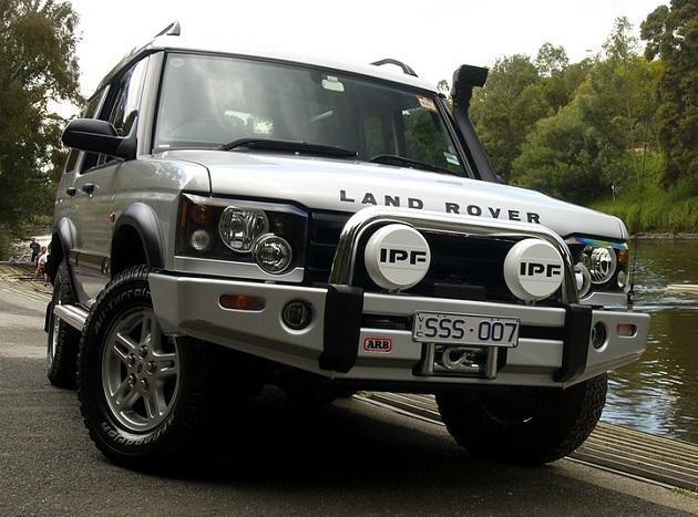 Бампер передний ARB Sahara для Land Rover Discovery 2 после 2002 года.