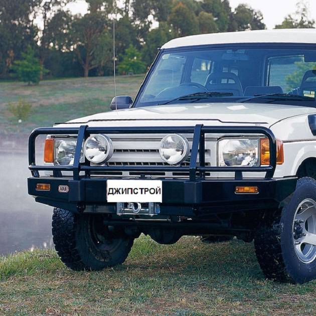 ARB: Deluxe Winch Bar Land Rover Discovery I AirBag