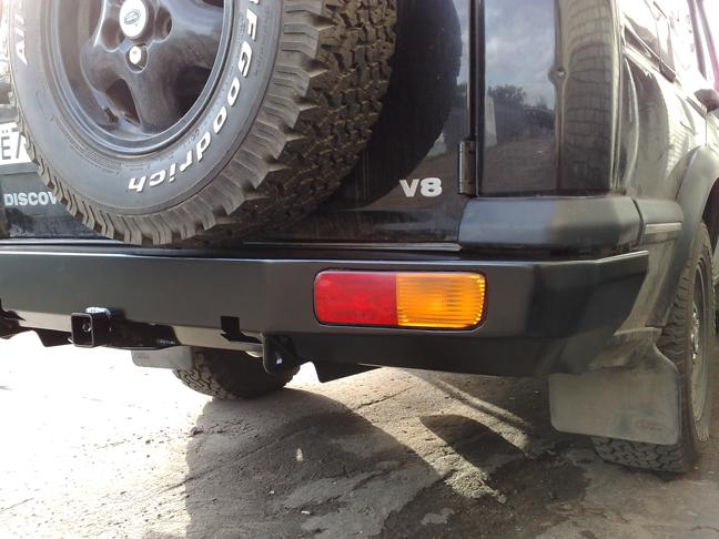 Задний силовой бампер Land Rover Discovery II