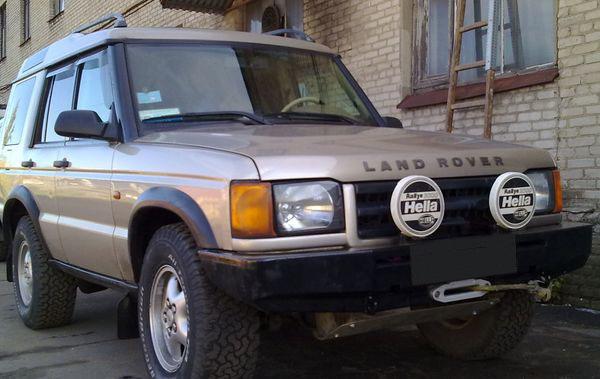 Передний силовой бампер Land Rover Discovery II