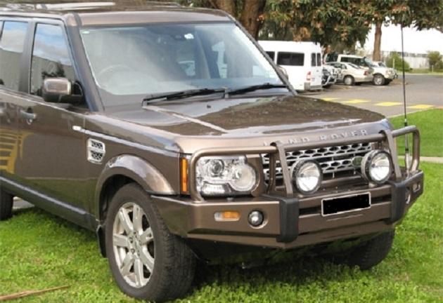 Бампер передний ARB Deluxe для Land Rover Discovery 2 после 2002 года.