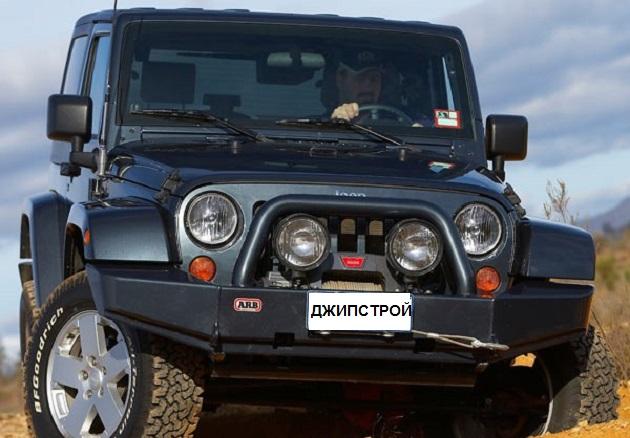 Бампер передний ARB Rock Crawler для Jeep Wrangler JK ( Текстурированное покрытие )