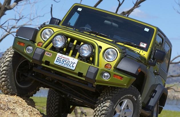 Бампер передний ARB Deluxe для Jeep Wrangler JK.