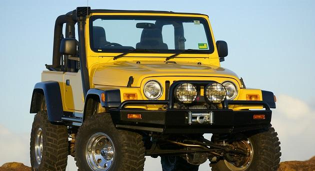 Бампер передний ARB Deluxe для Jeep Wrangler TJ
