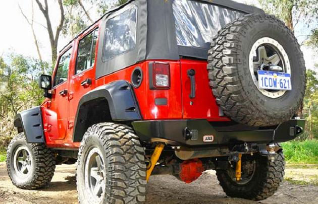 Бампер задний ARB для Jeep Wrangler JK.