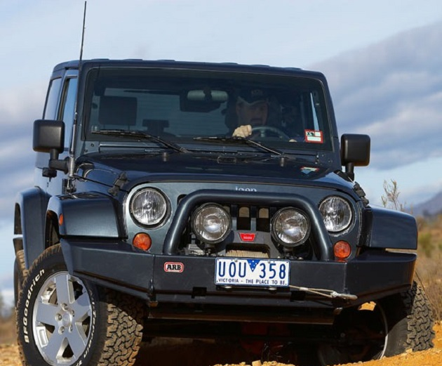 Бампер передний ARB Rock Crawler для Jeep Wrangler JK