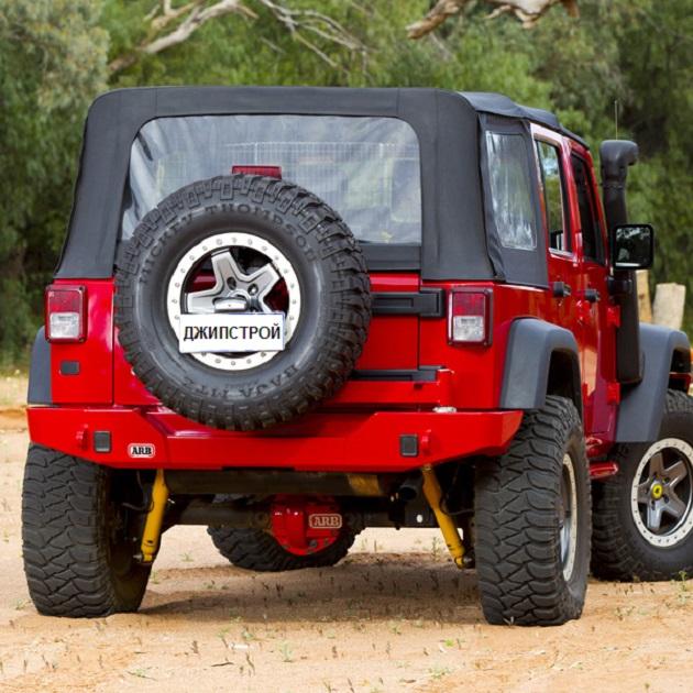 Бампер задний ARBдля Wrangler JKc опцией крепления запасного колеса