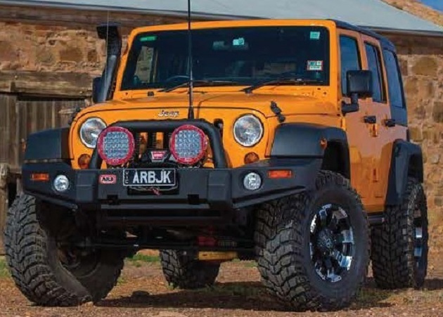 Бампер передний ARB Deluxe Combination для Jeep Wrangler JK.