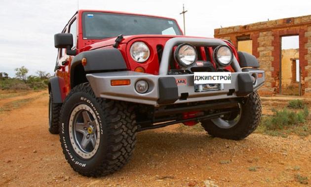 Бампер переднийARBDeluxe Winch Bar Jeep Wrangler JK