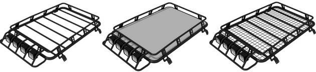 Багажник экспедиционный Chevrolet Niva SE