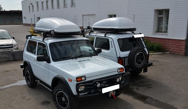 Багажник экспедиционный Lada Urban