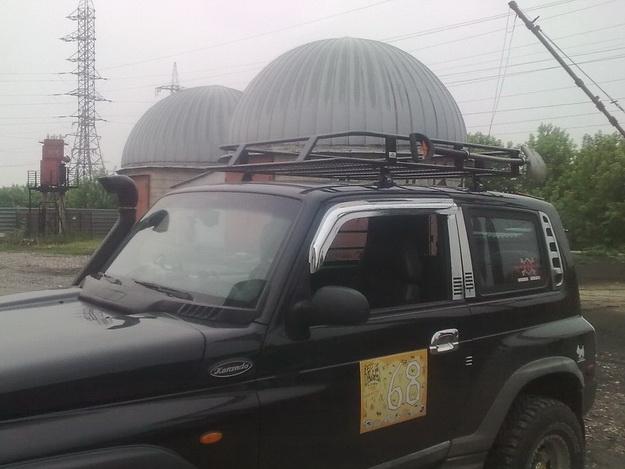 Силовые багажники SsangYoung Korando