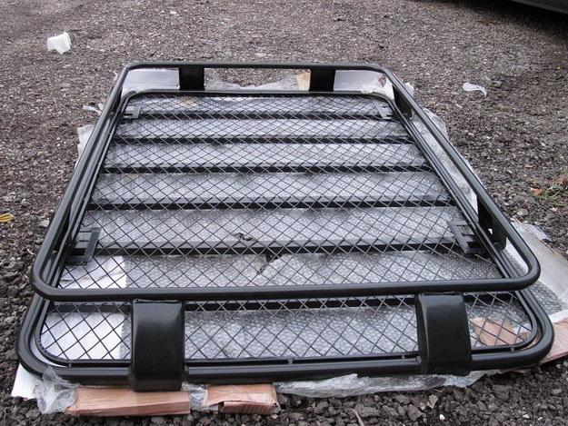 Силовые багажники Nissan Terrano