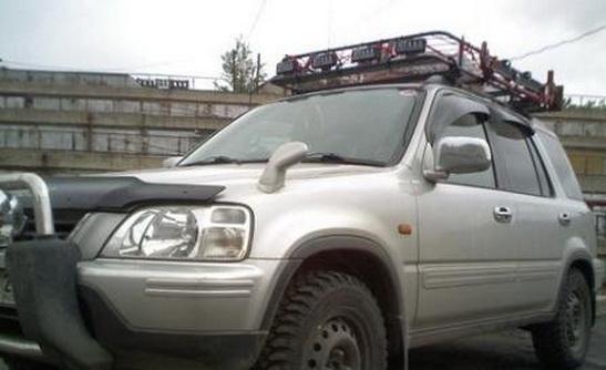 Силовые багажники на Honda CRV