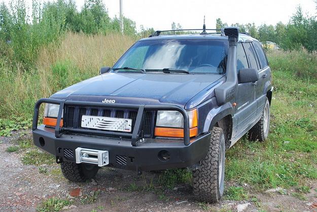 Передний силовой бампер JEEP Cherokee