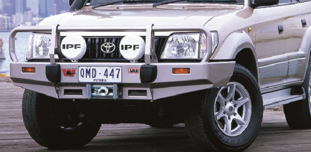 Бампер передний ARB Deluxe для Toyota Land Cruiser Prado 90 с 2002 года.