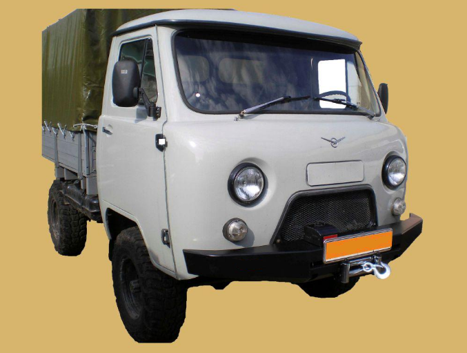 Бампер передний УАЗ 452 (буханка)