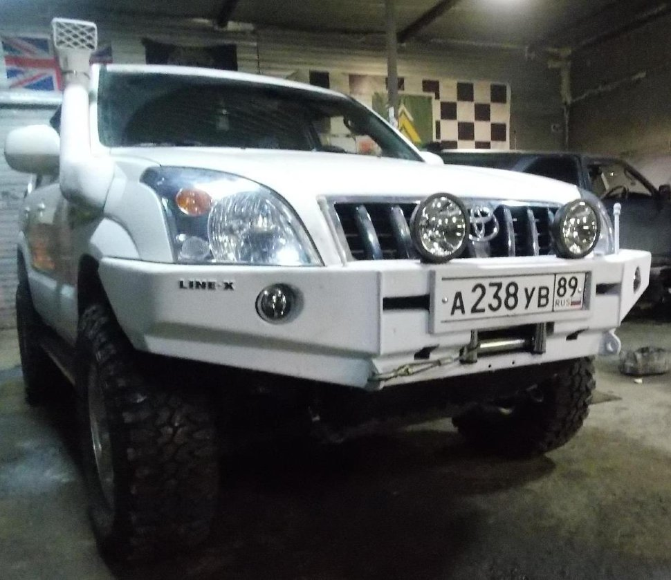 Шноркель Toyota Land Cruiser Prado 120