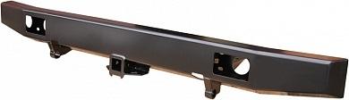 Бампер задний УАЗ Хантер с квадратом под фаркоп лифт/стандарт