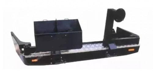 Бампер задний TOYOTA LAND CRUISER 80 (1992-1997) HD0071008-C F804-C