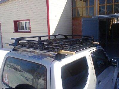 Силовой багажник на крышу для Сузуки Джимни.