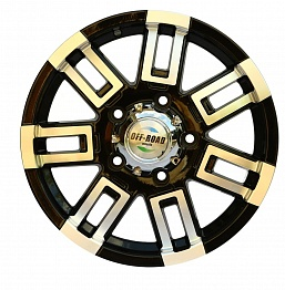 Диск УАЗ литой черный 5x139,7 7xR16 d110 ET+20