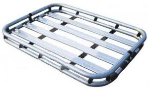 """Багажник алюминиевый универсальный 127x96.5 см (50""""x38"""") (в комплекте с поперечными штангами) устанавливается на рейлинги"""