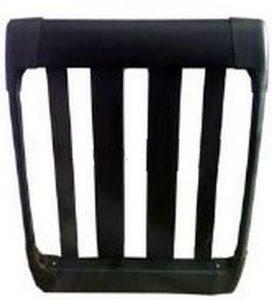 Багажник алюминиевый универсальный 98x77 см (без с поперечных штанг) устанавливается на рейлинги.