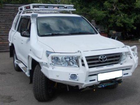 Передний силовой бампер II поколения - Toyota Land Cruiser 200.