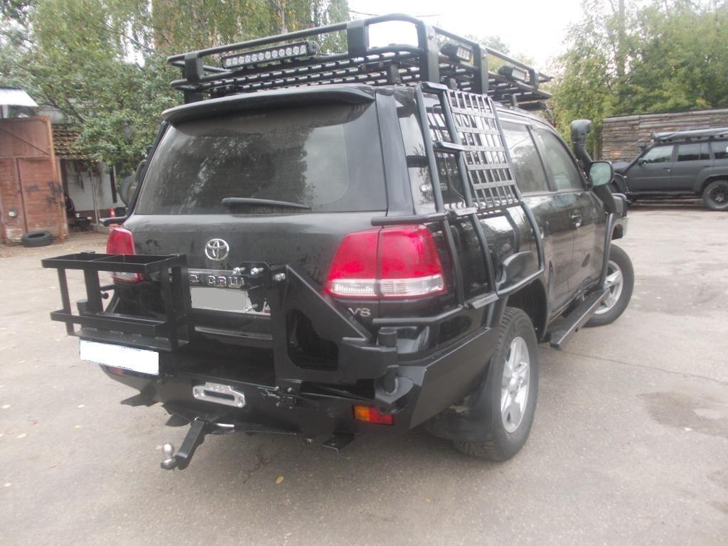 Экспедиционный багажник Toyota Land Cruiser Prado 200