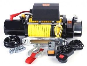 Лебедка электрическая 12V Electric Winch 6000lbs / 2722 кг (2 контакта) 1525
