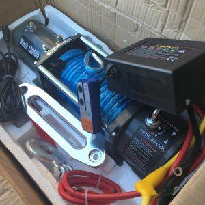 Лебедка Electric Winch (RunningMan) 12000 lbs/5000kg 12v троc синтетика 12*22