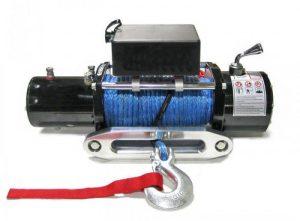 Лебедка LIFT-sport Winch 12000 lbs/5000kg 12v c моноблоком управления трос синтетика 12*23, влагозащита IP68