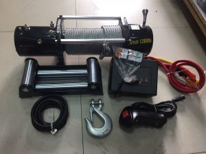 Лебедка электрическая 12V Electric Winch 12000lbs / 5443 кг SNC12OX
