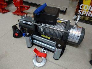 Лебедка электрическая 12V Electric Winch 12000lbs / 5443 кг с кевларовым тросом 12mm SNC12OWX