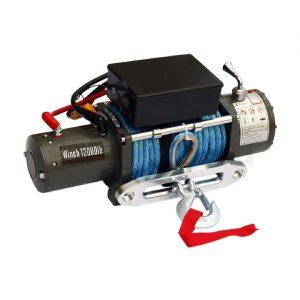 Лебедка электрическая 12V Electric Winch 12000lbs / 5443 кг влагозащита IP68