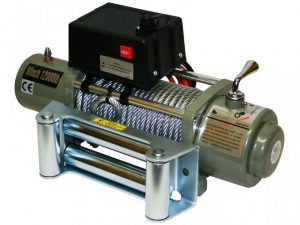 Лебедка Electric Winch 12000 lbs/4500kg 12v неразборный редуктор