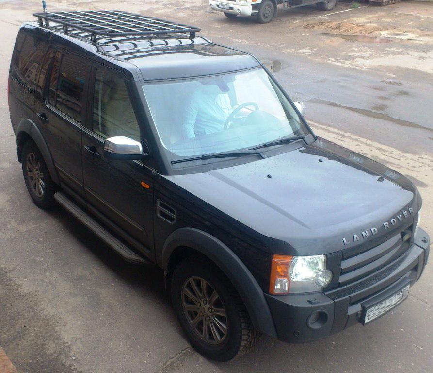 Алюминиевый багажник Land Rover Discovery III эконом