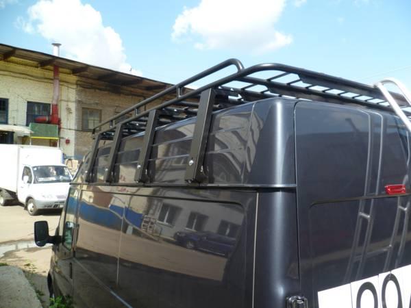 Алюминиевый багажник Ford Transit