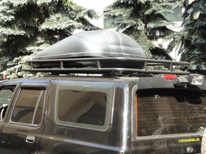 Алюминиевый багажний сейф Great Wall